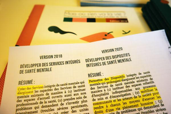 Proposition 05 « Dispositifs intégrés de santé mentale »