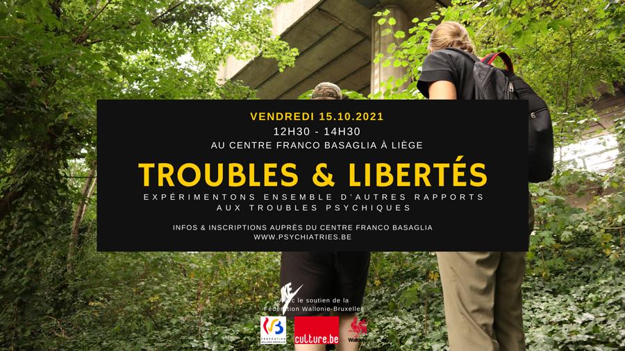 Troubles & Libertés - réunion